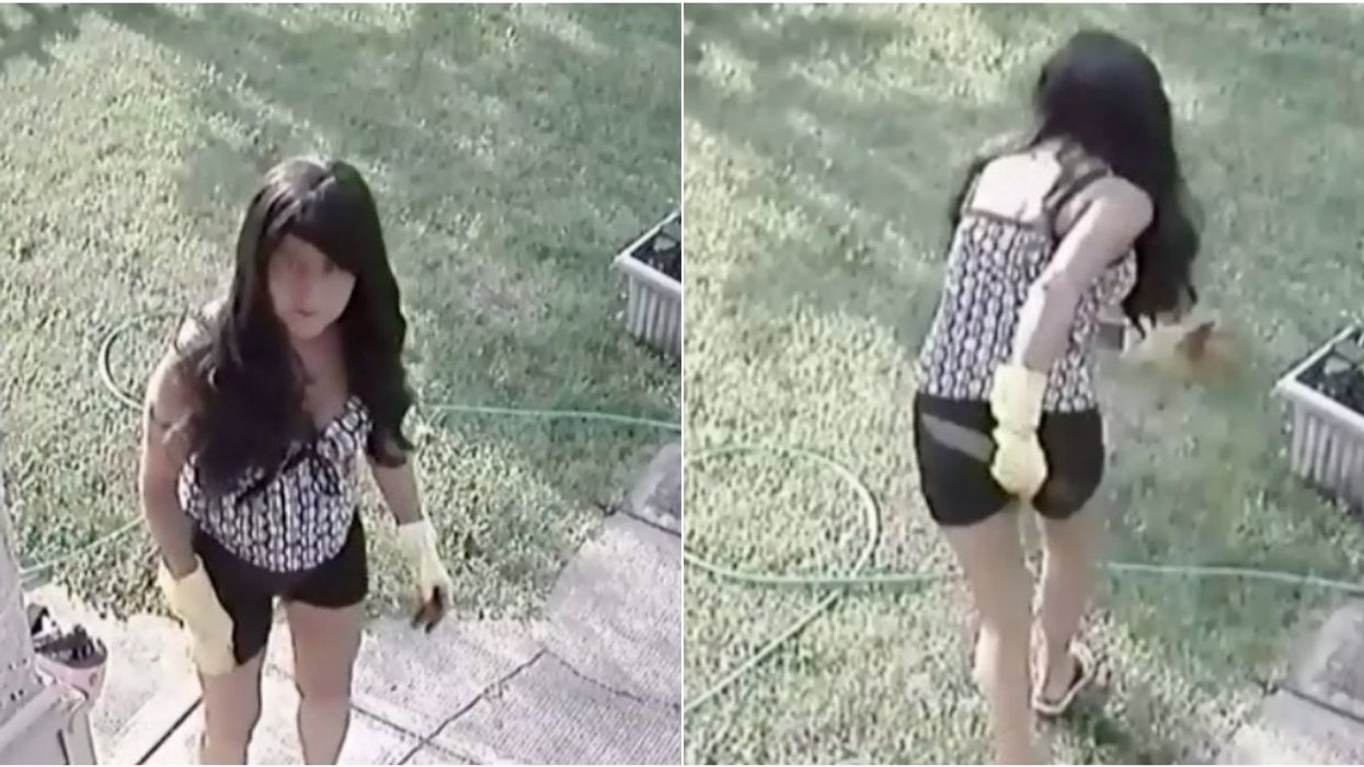 An Intruder Tried To Kidnap A Canadian Woman's Baby With A Butcher's Knife (VIDEO)