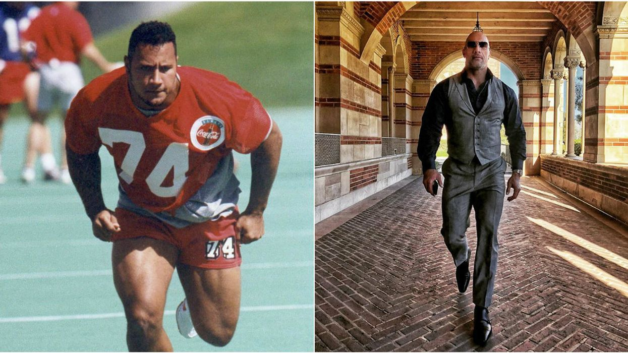 Dwayne 'The Rock' Johnson Reveals Why Getting Cut From The Calgary Football Team Was The Best Thing That Ever Happened To Him