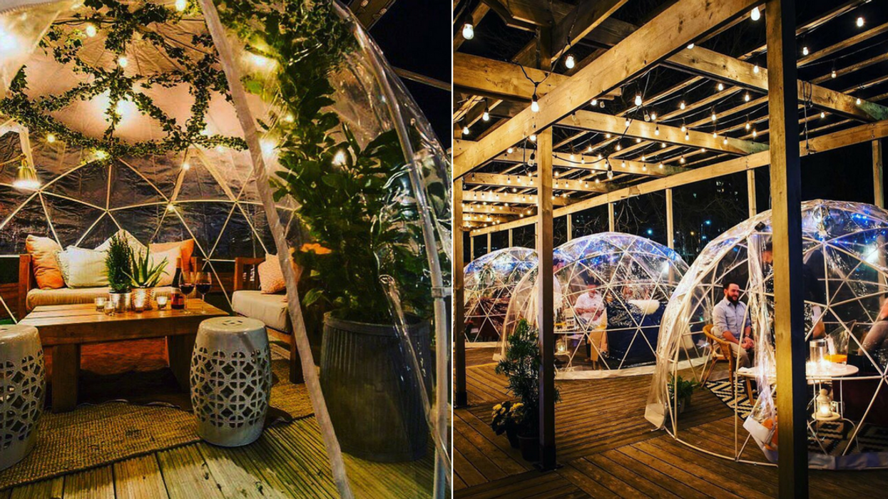 You Can Eat Dinner Inside These Cozy Enchanted Domes By The Canal In Ottawa This Fall