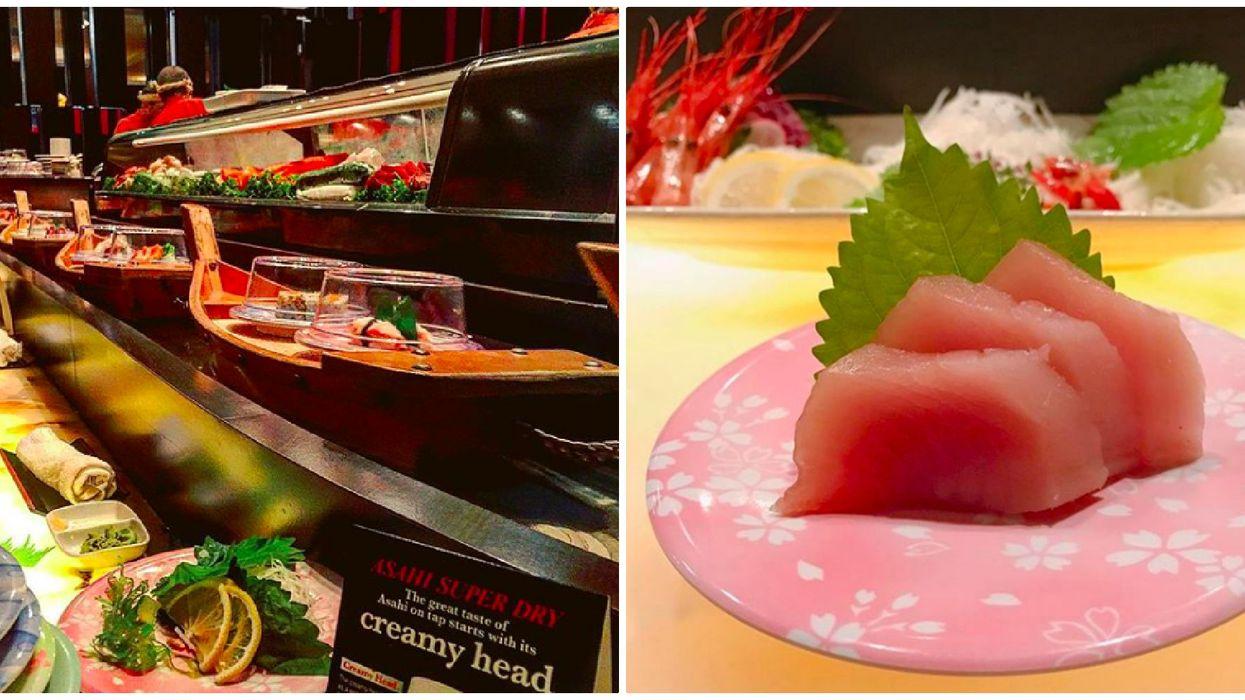 This Restaurant In Toronto Serves Sushi In A Boat On A Conveyor Belt And It Is A Must-Try