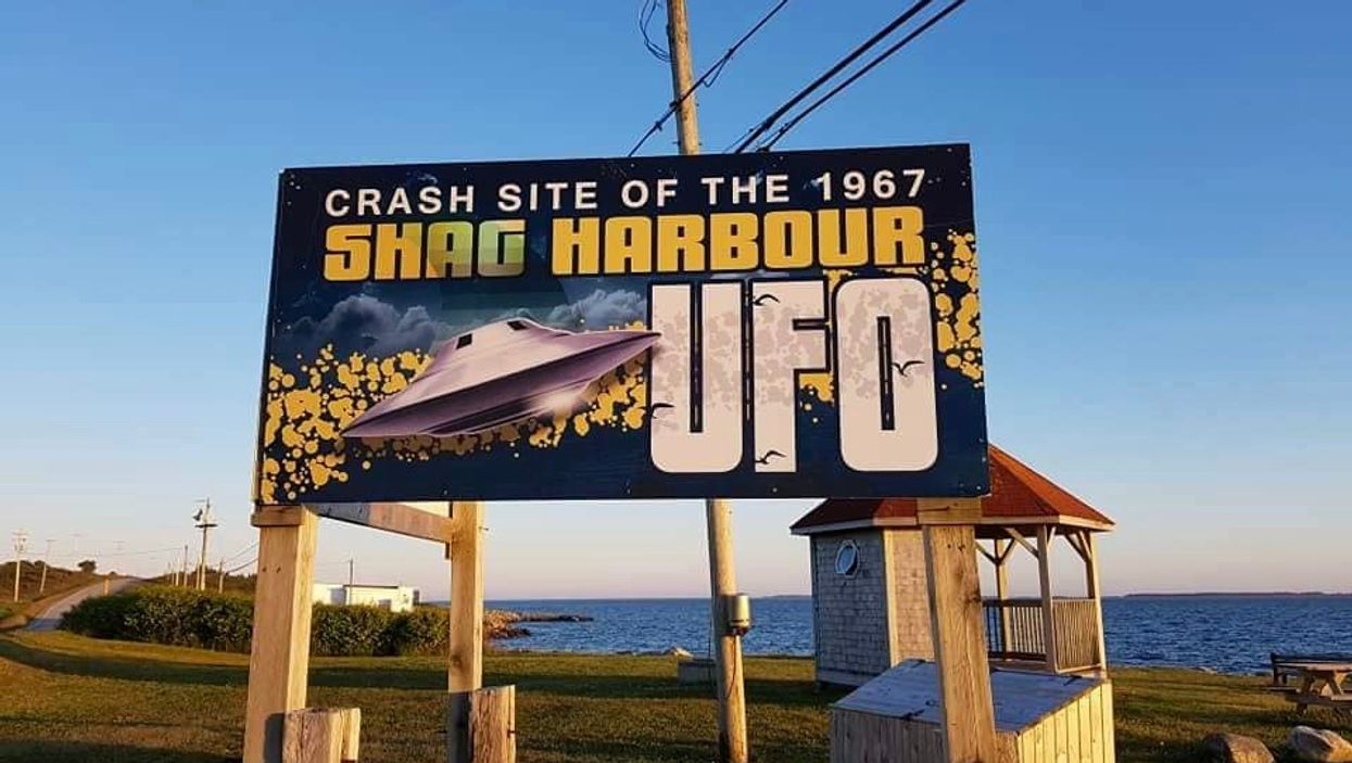 This Village In Nova Scotia Is The Official Crash Site Of A 1967 UFO Case
