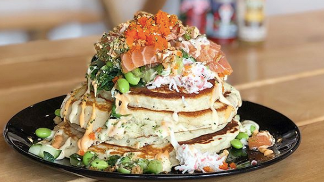 This Sushi Spot In Vancouver Serves Epic Poké Pancakes And They Look Incredible