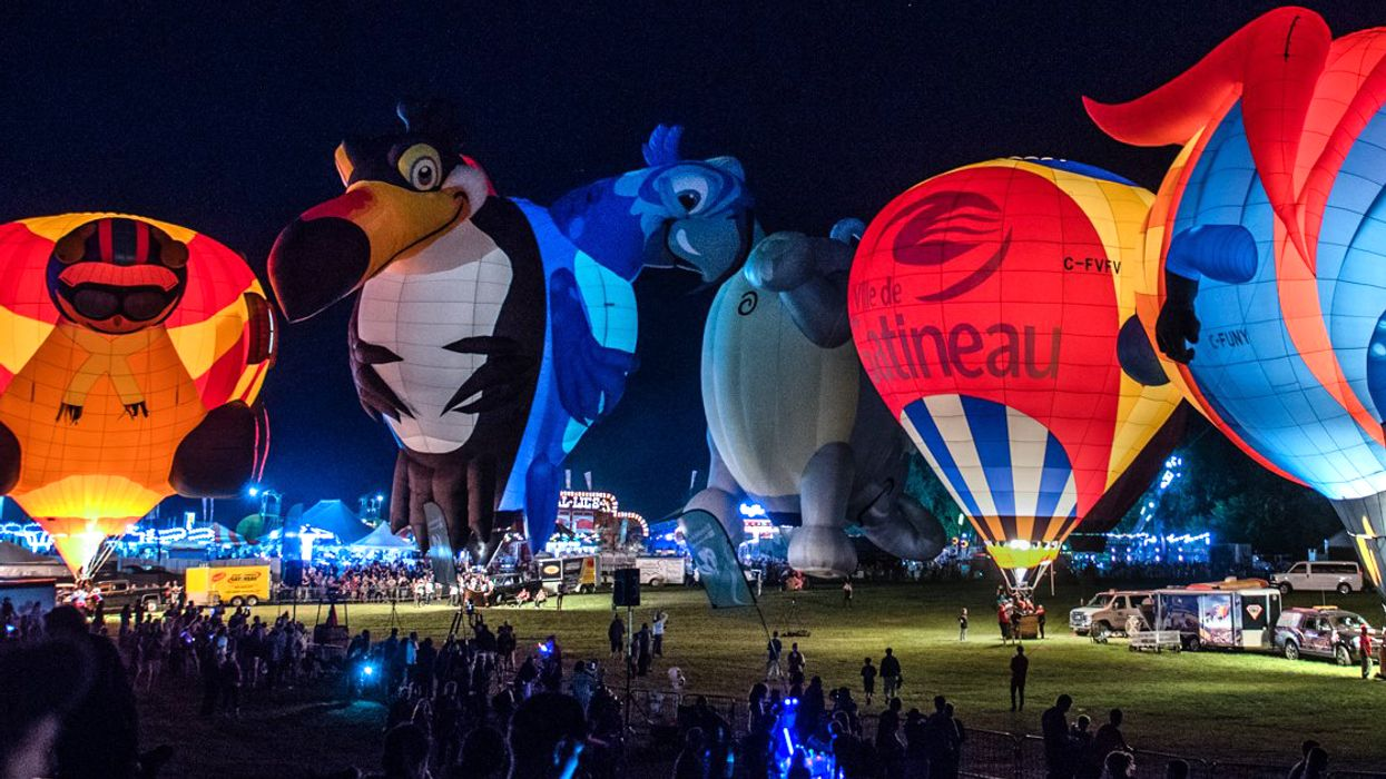 Canada's Largest Hot Air Balloon Festival Is Happening Near Ottawa This Fall