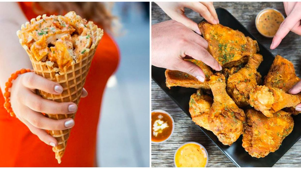 You Can Get Fried Chicken In A Waffle Cone At This Spot In Toronto Tomorrow For Only $1 And Here's How