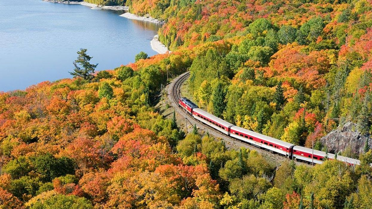 This $20 Train Ride Will Take You Past Stunning Views Of The Fall Colours In Ontario