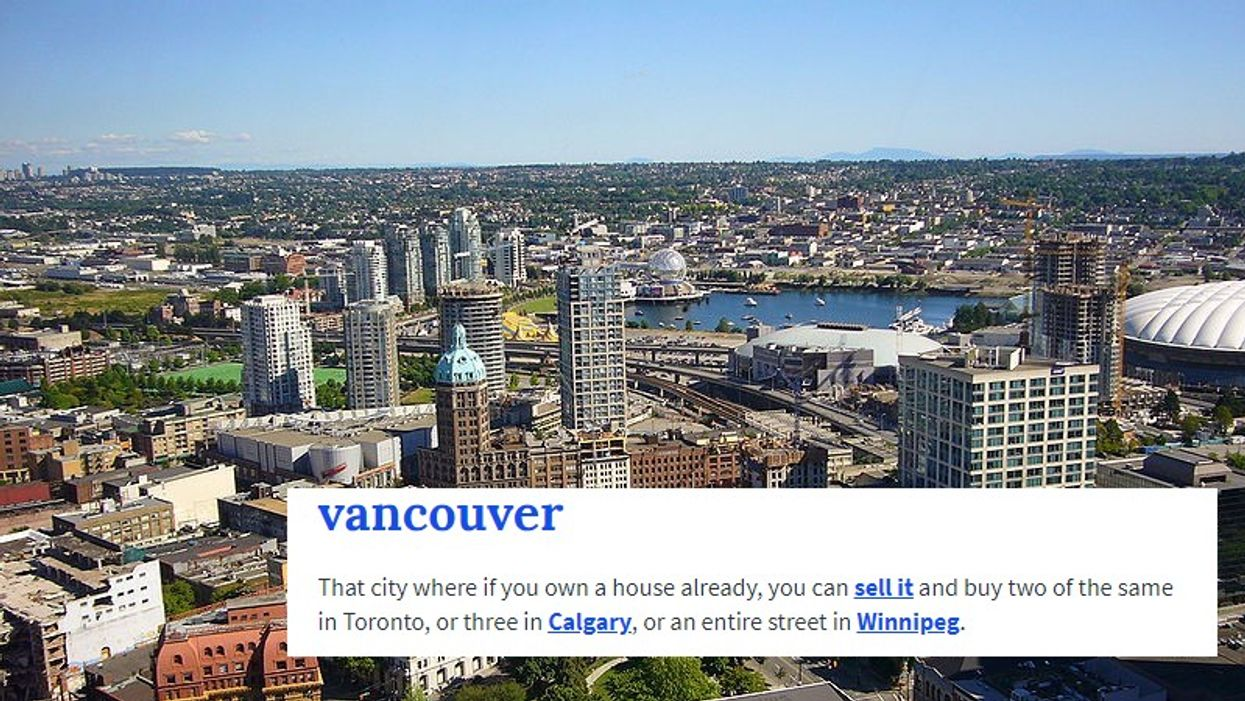6 Canadian Cities Hilariously Described By Urban Dictionary
