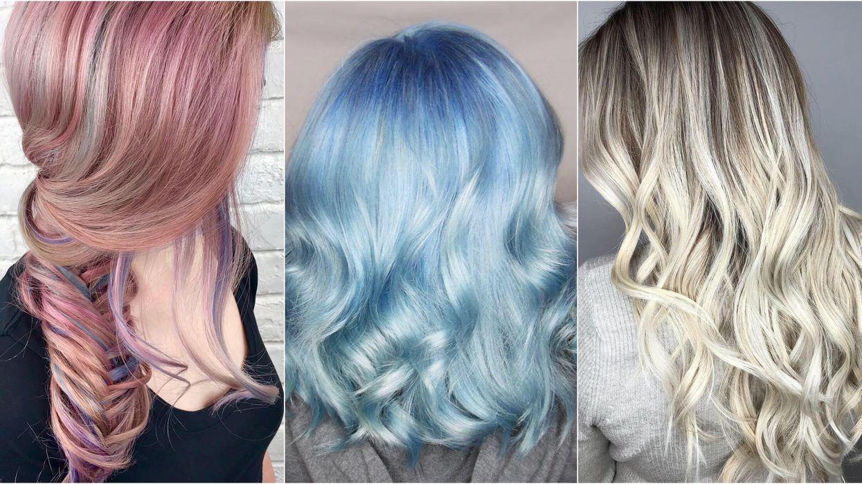 Cette couleur est LA tendance cheveux du moment et ça fait bien à tout le monde