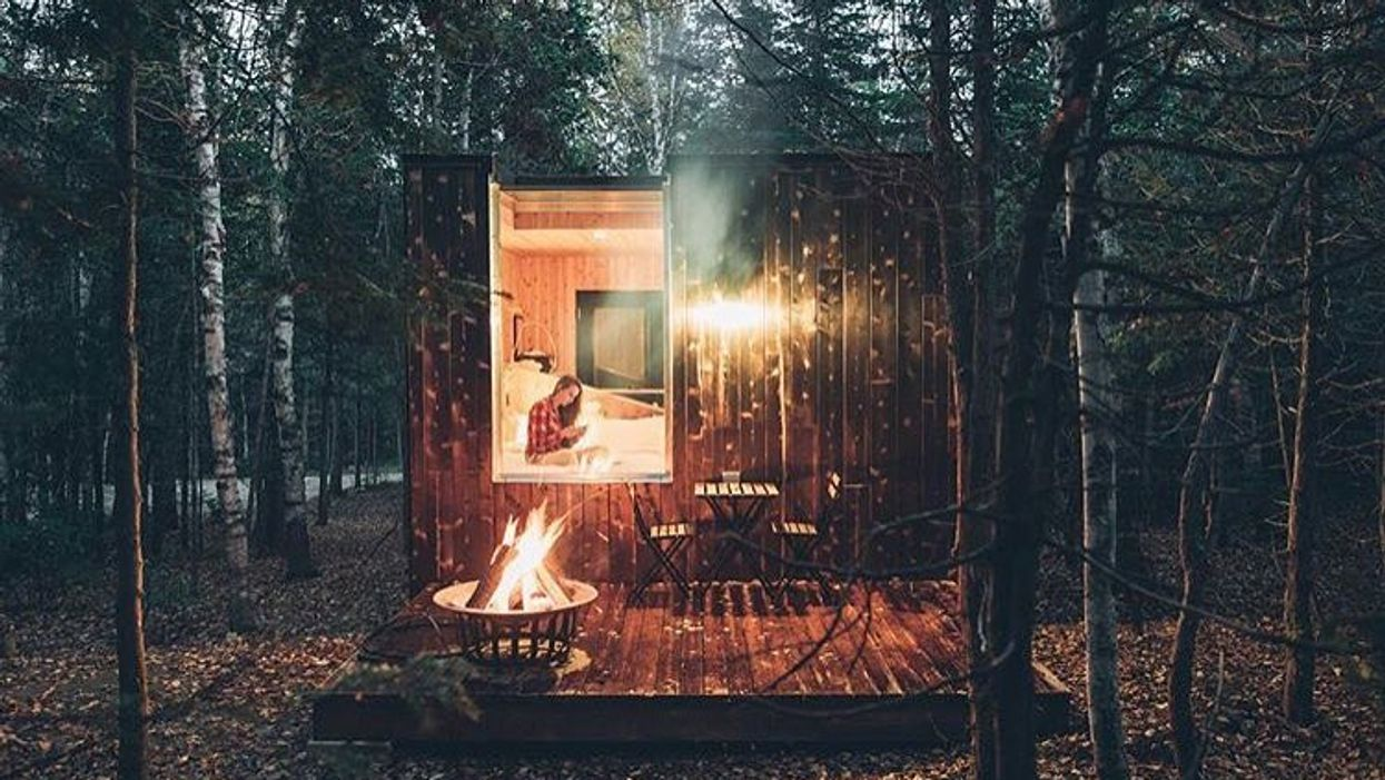 You Can Rent These Luxurious Mini Homes In The Forest Near Ontario