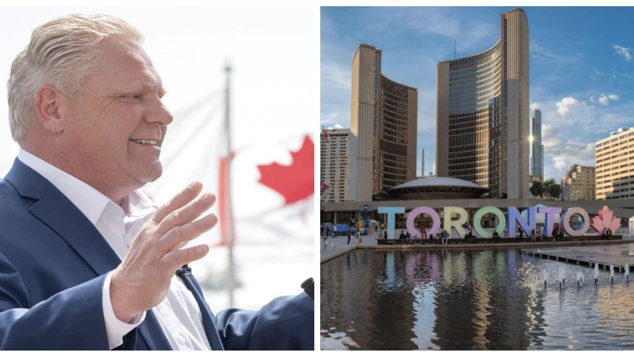 Doug Ford Just Responded To Losing The Court Battle On Toronto's City Council