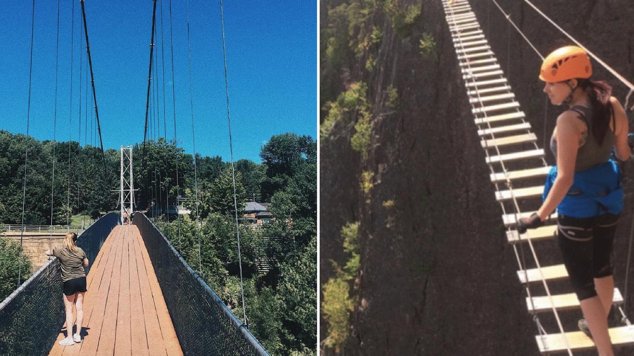 5 ponts suspendus au Québec sur lesquels tu dois tester ton courage pour une vue magnifique
