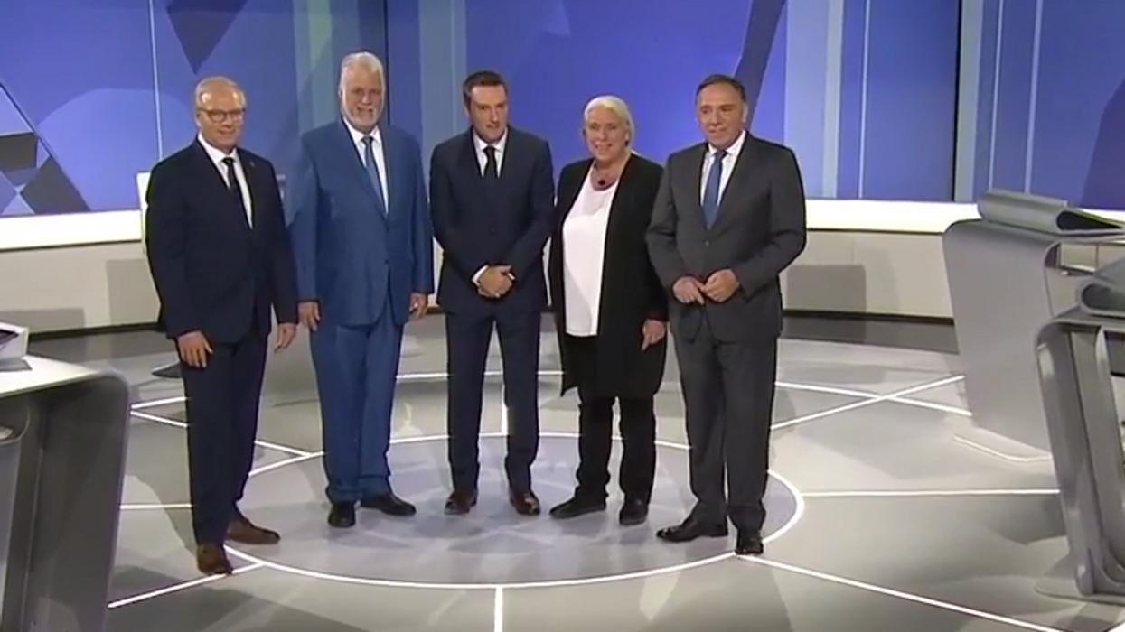 Toute la bisbille au débat des chefs hier soir pour les élections provinciales