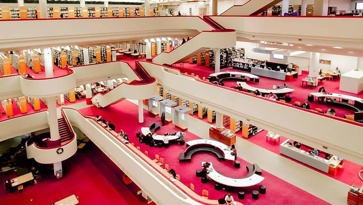 The Toronto Reference Library Is Hosting A Huge 50 Cent Book Sale