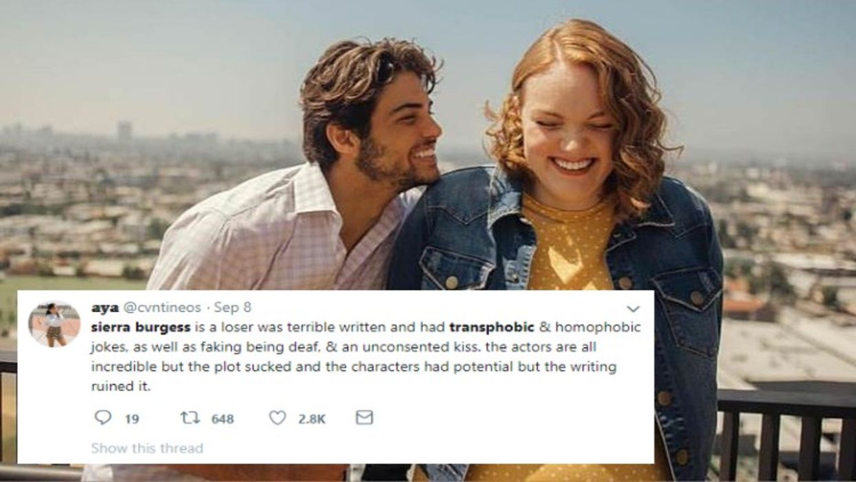 """Netflix's """"Sierra Burgess Is A Loser"""" Slammed For Being Transphobic And The Film's Writer Is Actually Defending It"""