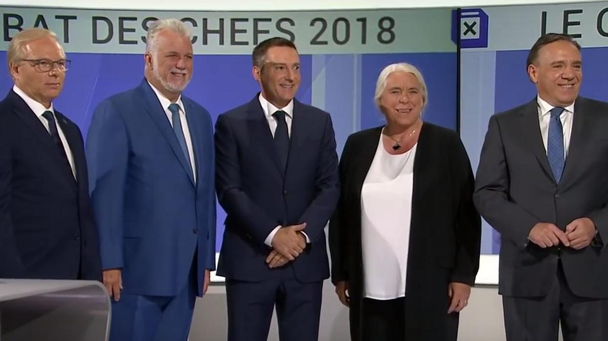 Un premier débat des chefs aura lieu en anglais et les Québécois sont divisés