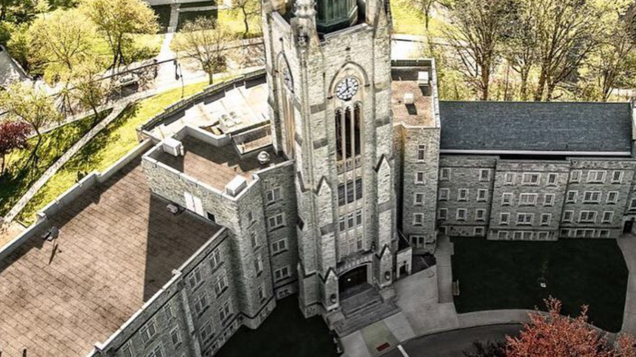 We Finally Know Who's Behind Those Creepy Ads Showing Up On Ontario University Campuses