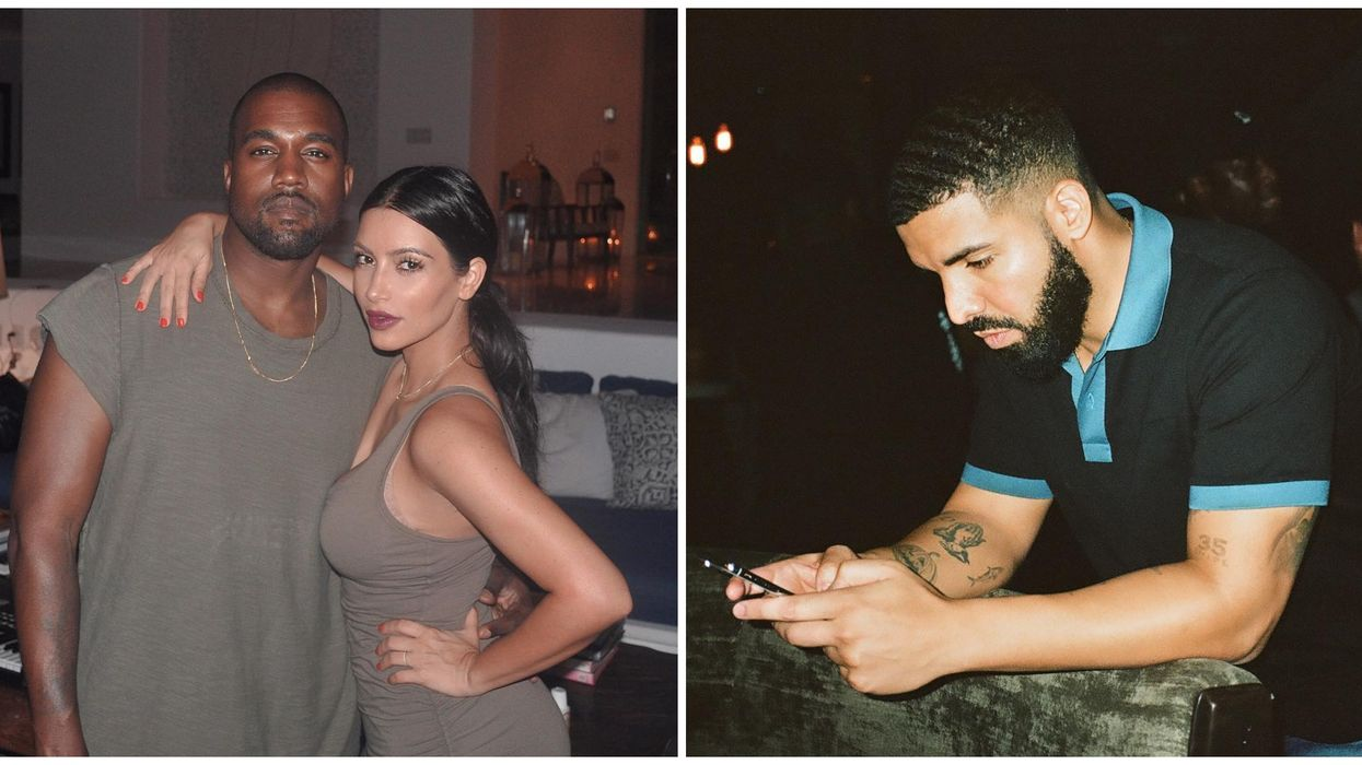 """Kanye West Confronts Drake On Instagram About His Viral """"In My Feelings"""" Song And Kim Kardashian Cheating Rumours"""