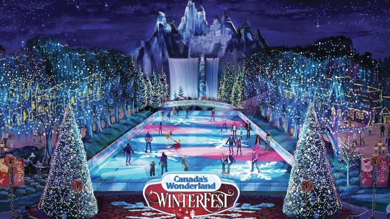 Canada's Wonderland Will Be Transformed Into A Magical Winter Wonderland