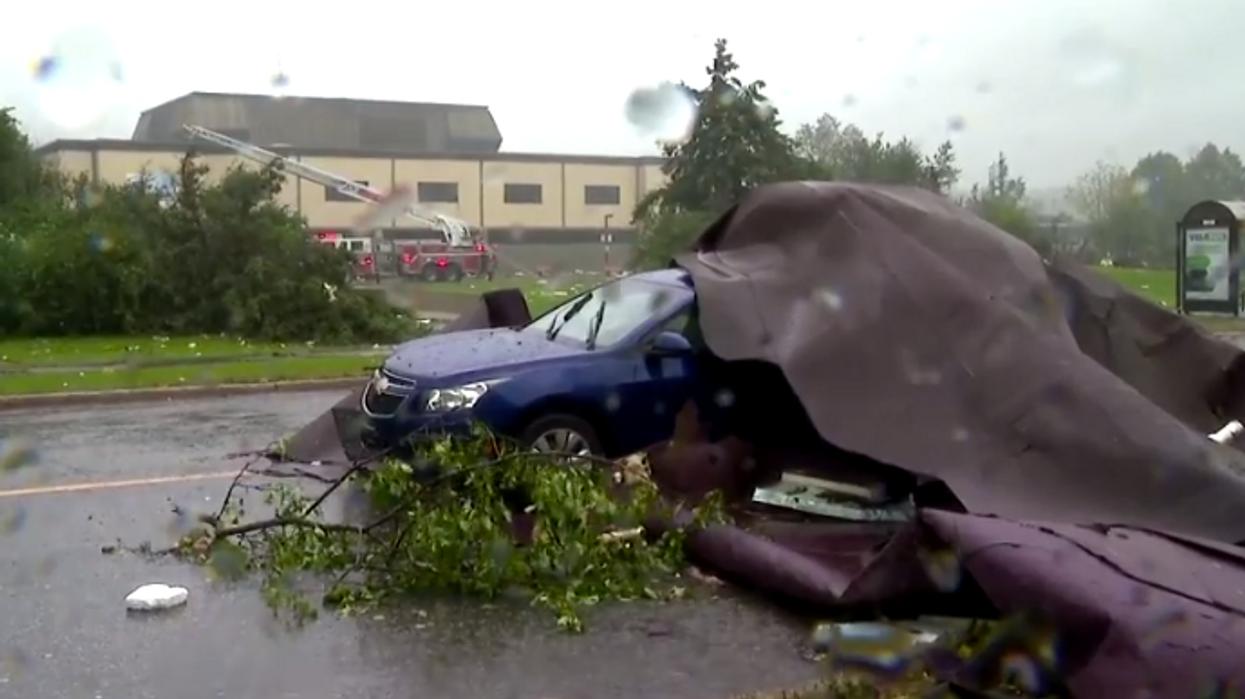 Tout le chaos causé par la tempête de vendredi au Québec