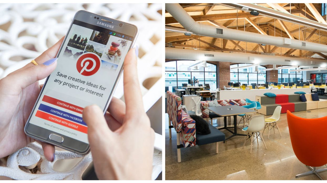 Pinterest Is Opening Their First Canadian Office In Downtown Toronto