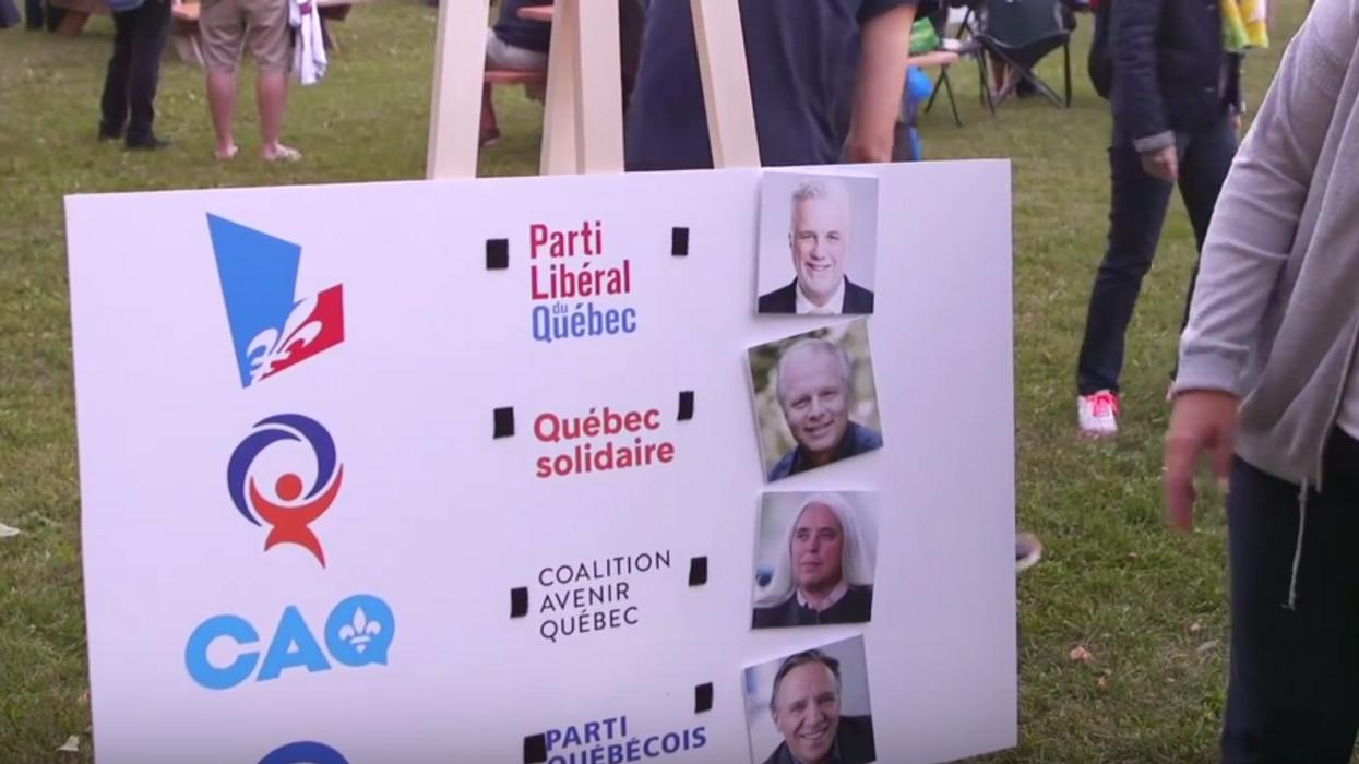 Tous les moments vraiment cocasses du vox-pop de Guy Nantel en vue des élections du Québec