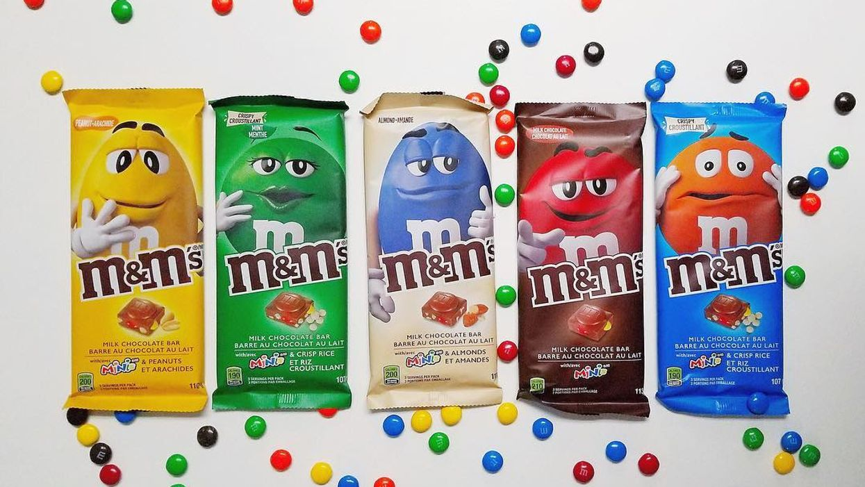 M&M'S Released A Brand New Chocolate Bar And They're Actually Available In Canada