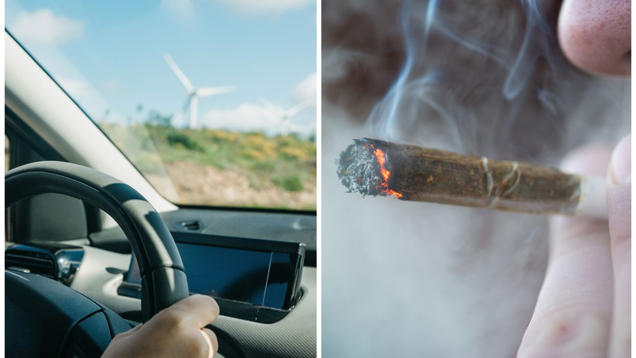 The First Known Ticket Has Just Been Issued To A Canadian For Driving High After Weed Legalization