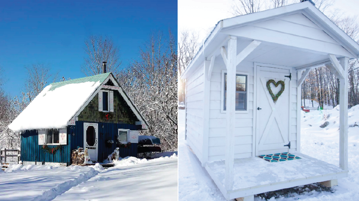 Winter Cabins You Need To Rent In Ontario That Will Make You Feel Like You're In A Holiday Movie