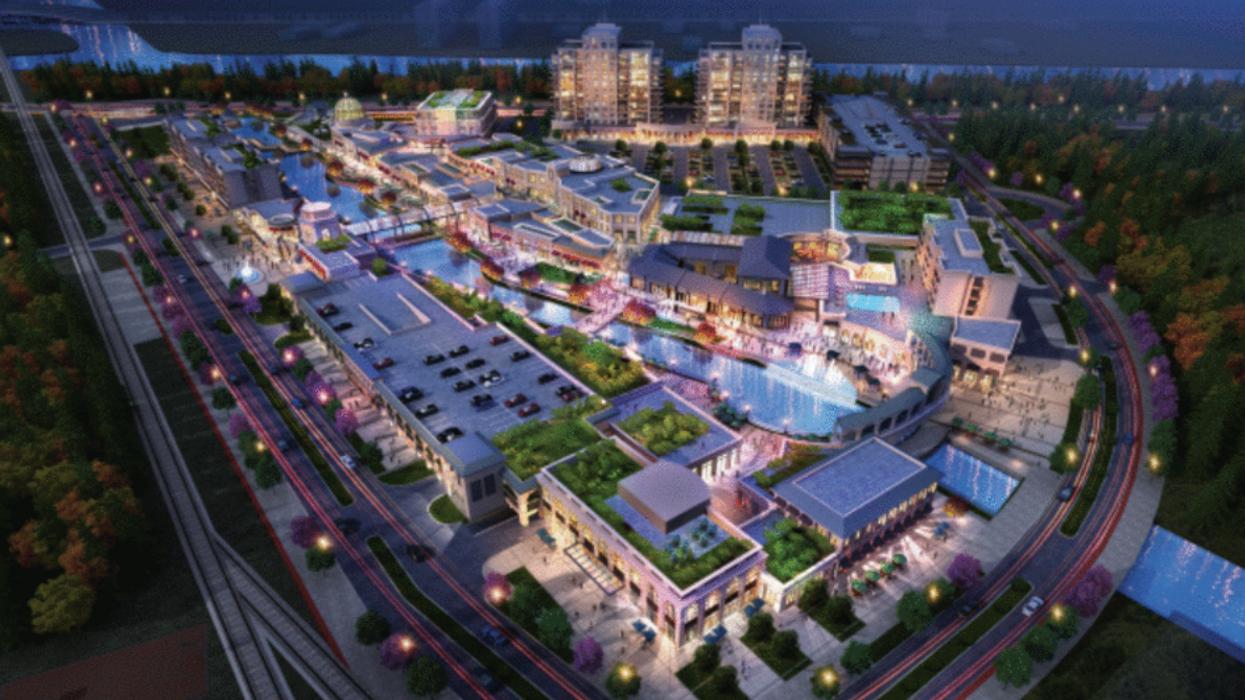 Niagara Falls sera complètement transformée en immense village inspiré d'Europe