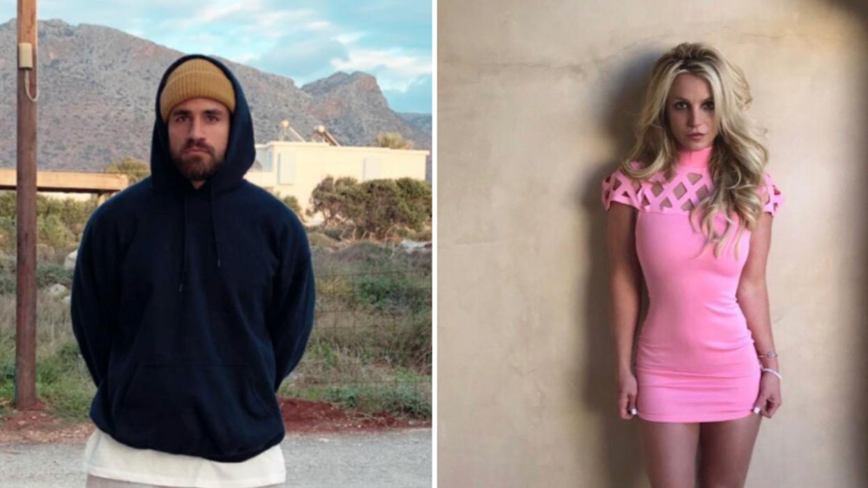 Cette photo de Jay Du Temple déguisé en Britney Spears est la seule chose que tu veux voir aujourd'hui