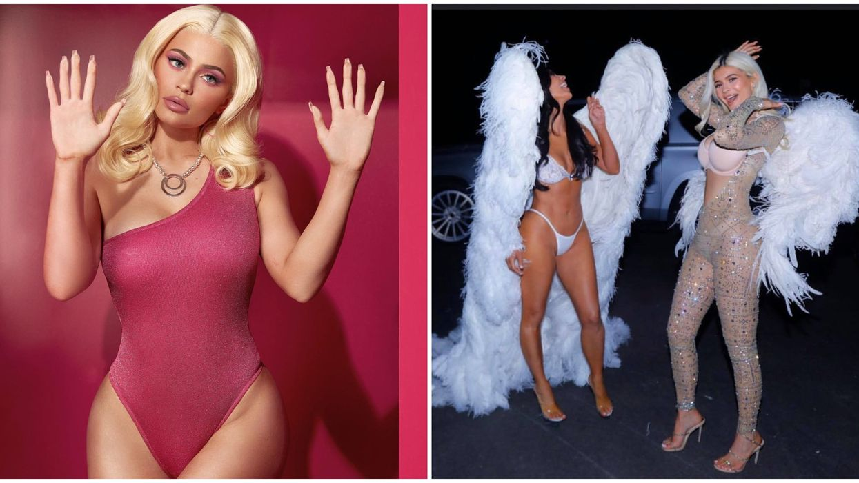 All Of The Kardashian's Most Outrageous Halloween Costumes This Year