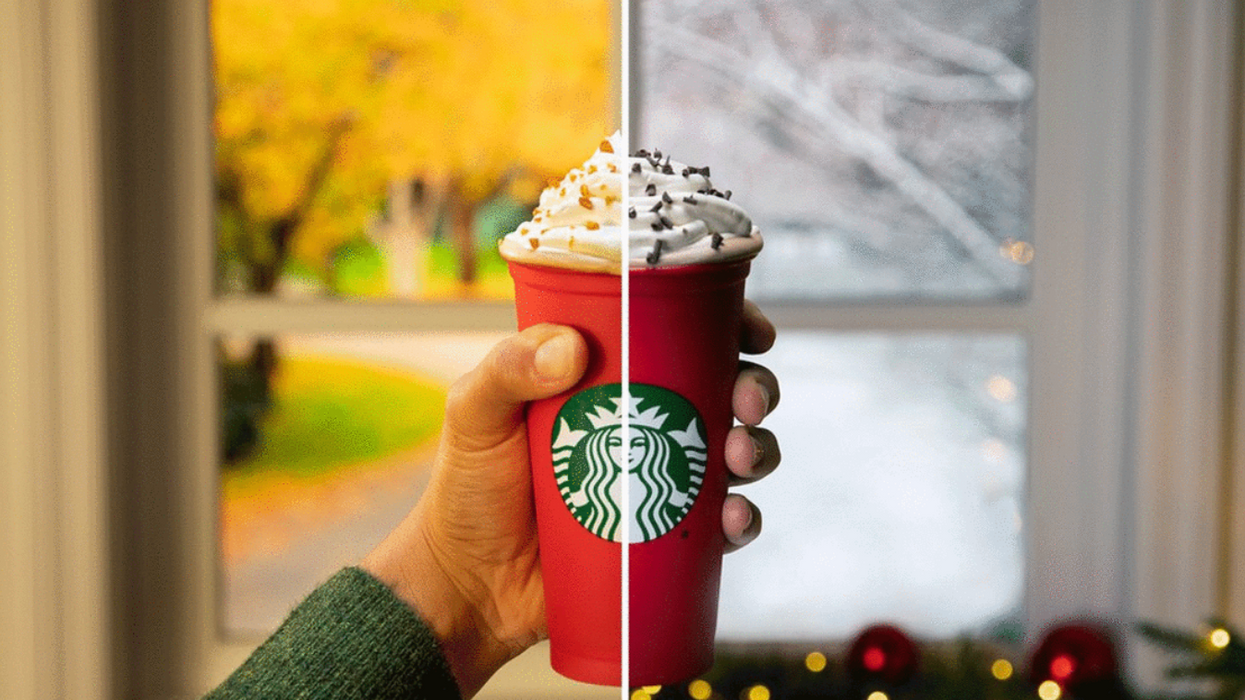 Starbucks Released Their Holiday Drinks In Canada This Morning And It Did Not Really Go As Planned