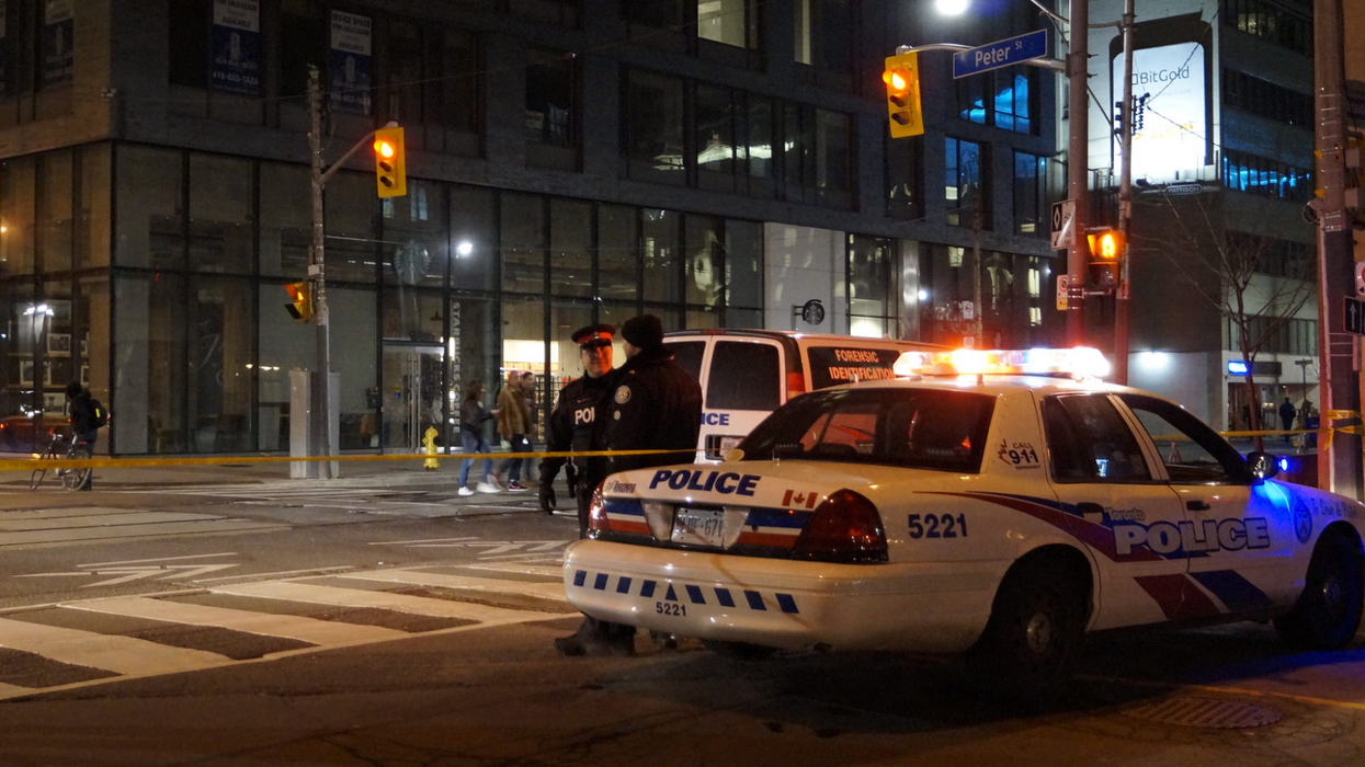 Two Suspects In Halloween Masks Opened Fire In Downtown Toronto And The Photos Are Truly Disturbing