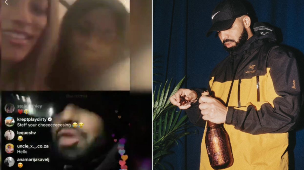 Drake Attempting To Flirt With A Girl Via Instagram Live Is The Most Awkward Thing We've Seen All Week