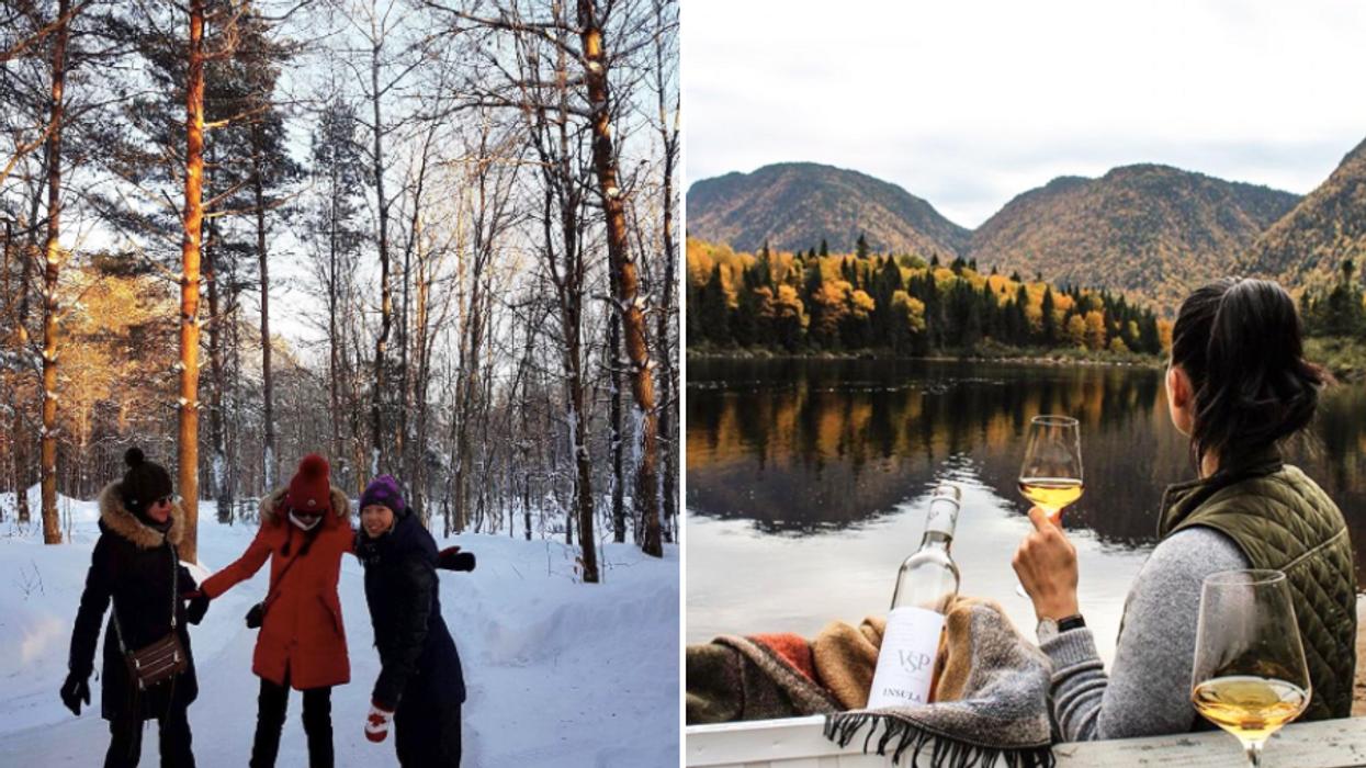 27 activités originales à faire entre filles au Québec au lieu d'aller souper
