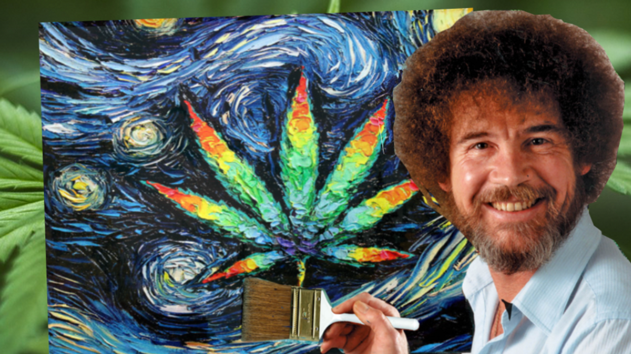 """The Very First Weed-Friendly """"Puff And Paint"""" Night Is Happening In Toronto This Weekend"""