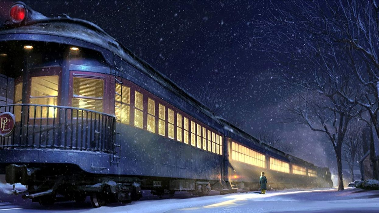 A Polar Express Train Is Coming To Alberta This Month And It Looks Absolutely Magical
