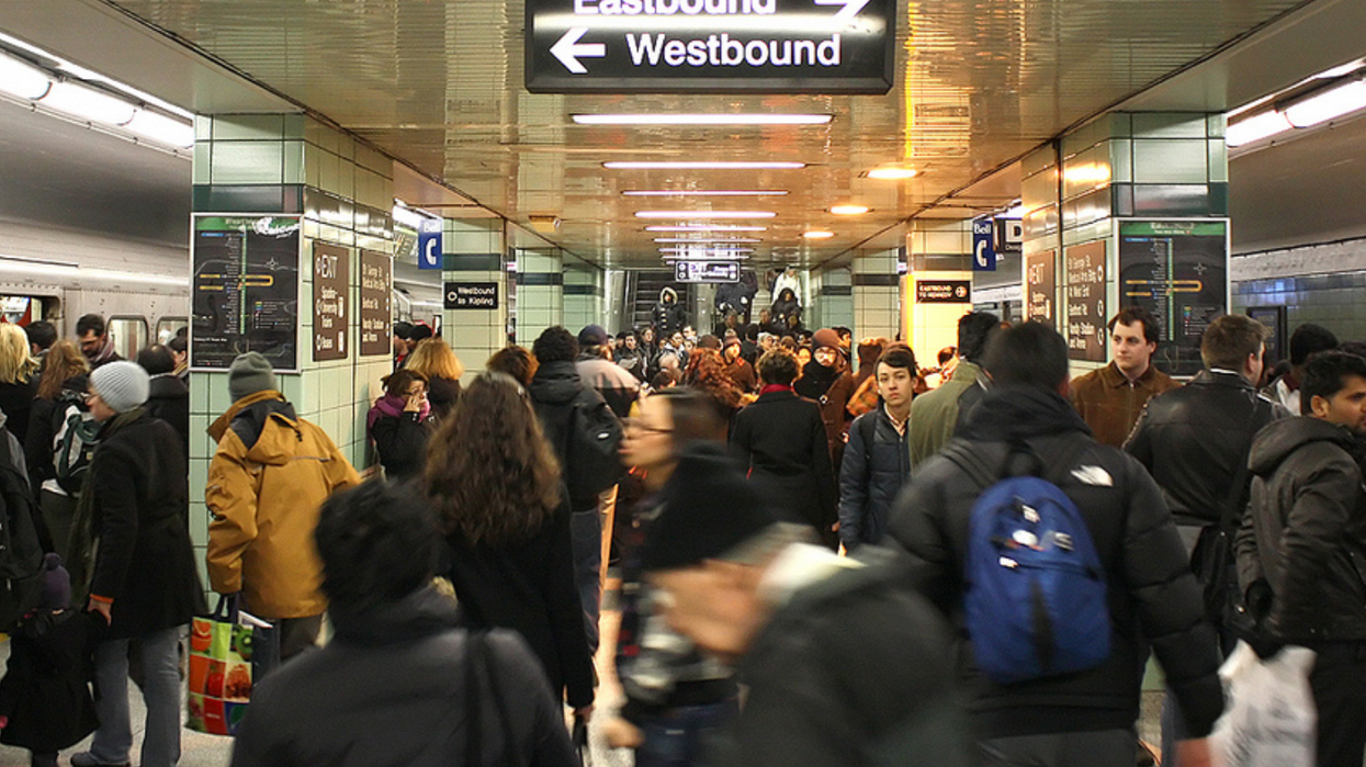 A Ten-Minute Subway Delay Causes Absolute Chaos At A Toronto TTC Station (VIDEO)