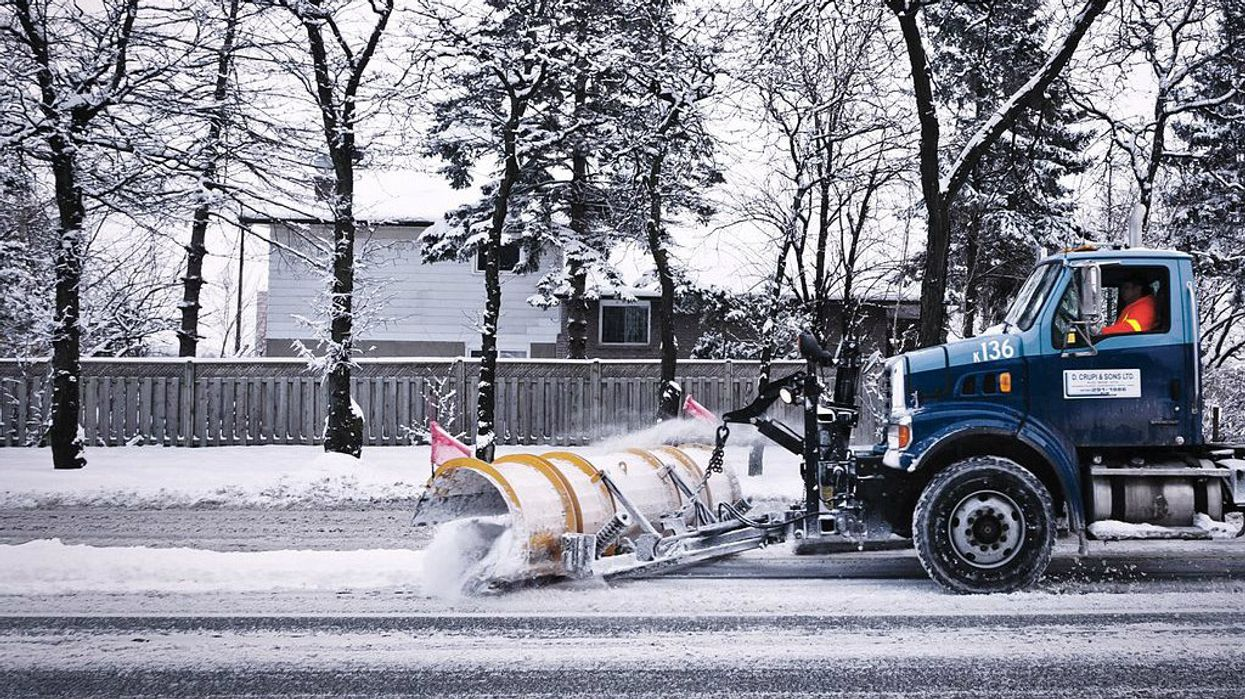 Get Ready Toronto, Snow Is In The Forecast Four Days This Week