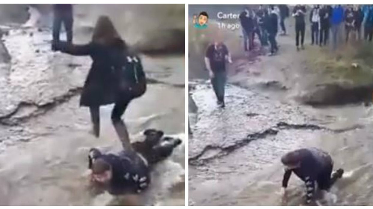 Canadian Students Bullied And Literally Walked All Over A Disabled Teenager And It's Heartbreaking (VIDEO)