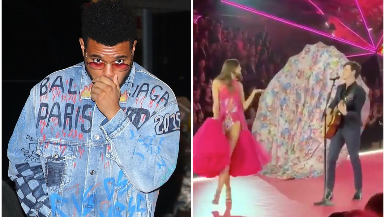 Canadian Boys Got All The Love From The Angels At Last Night's Victoria's Secret Fashion Show (PHOTOS)