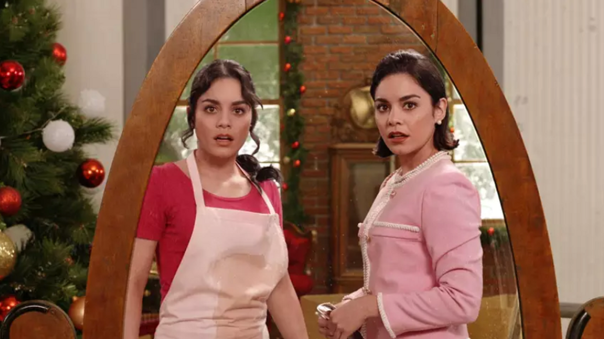 Vanessa Hudgens Is In A New Netflix Canada Movie And It's Basically A Christmas Version Of 'The Parent Trap'
