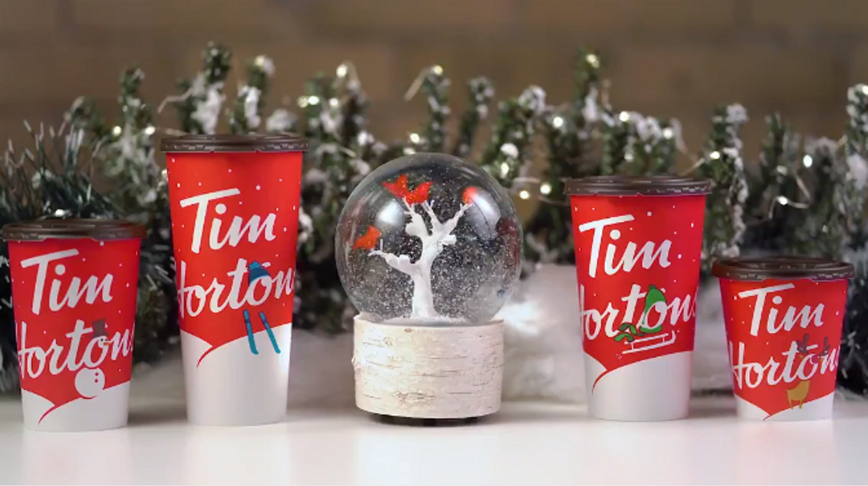 Tim Hortons New Holiday Menu Is Coming Next Week And We're Actually Excited About It