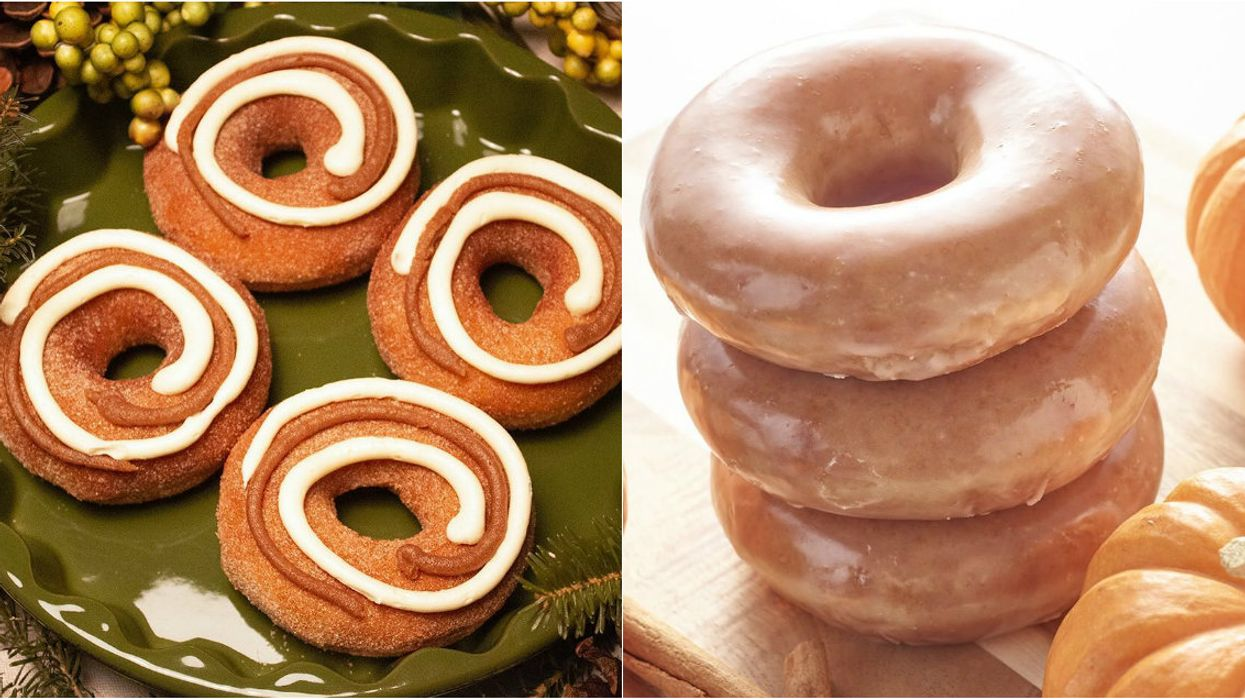 Krispy Kreme Is Launching Two New Donuts Across Canada Tomorrow For The Holidays