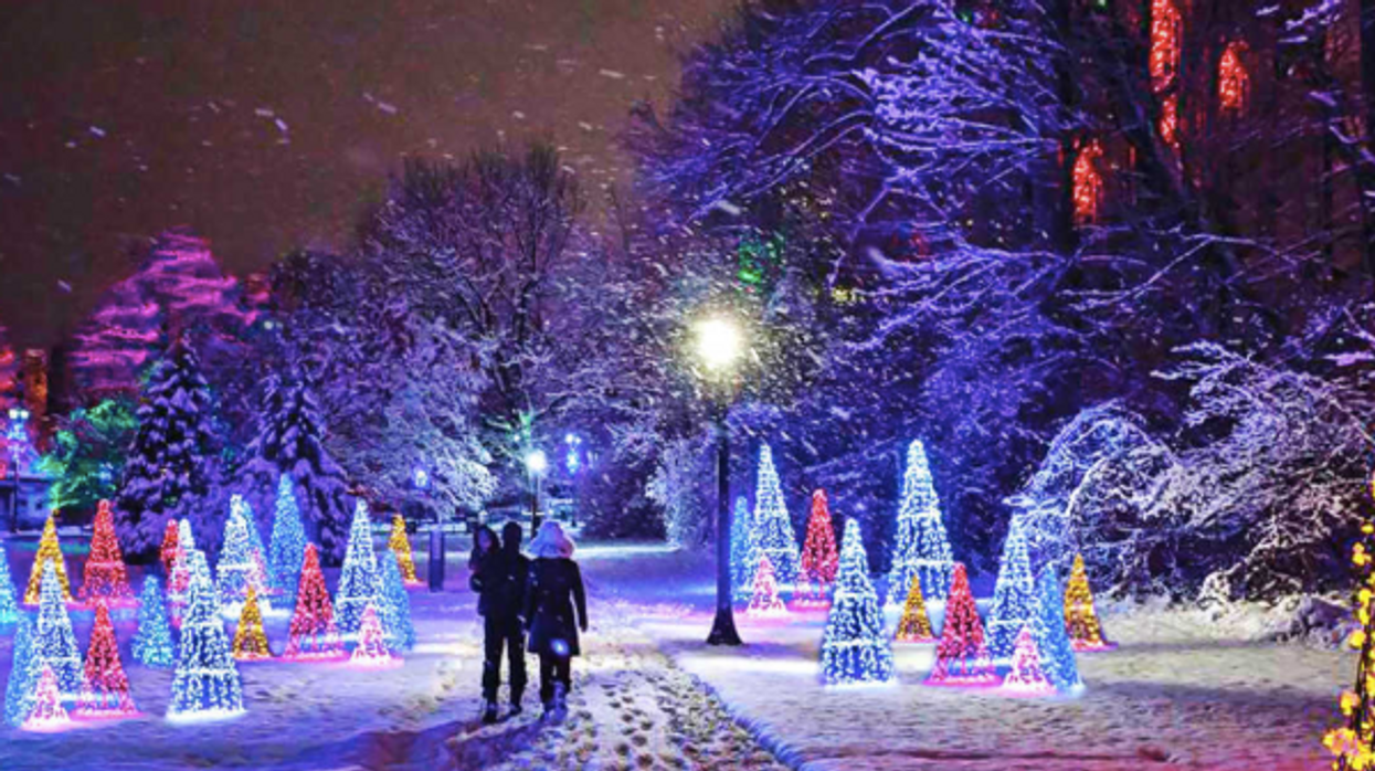 10 Spectacular Holiday Light Festivals In Ontario This Winter
