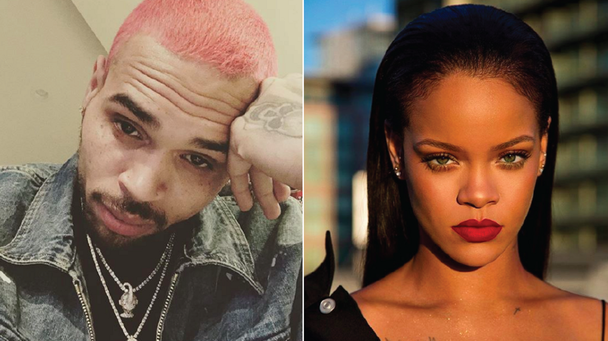 Chris Brown Tried Flirting With Rihanna On Instagram And She Was Not Having It