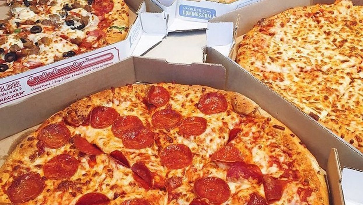 You Can Get 50% Off Pizzas At All Dominos Stores In Canada This Entire Week