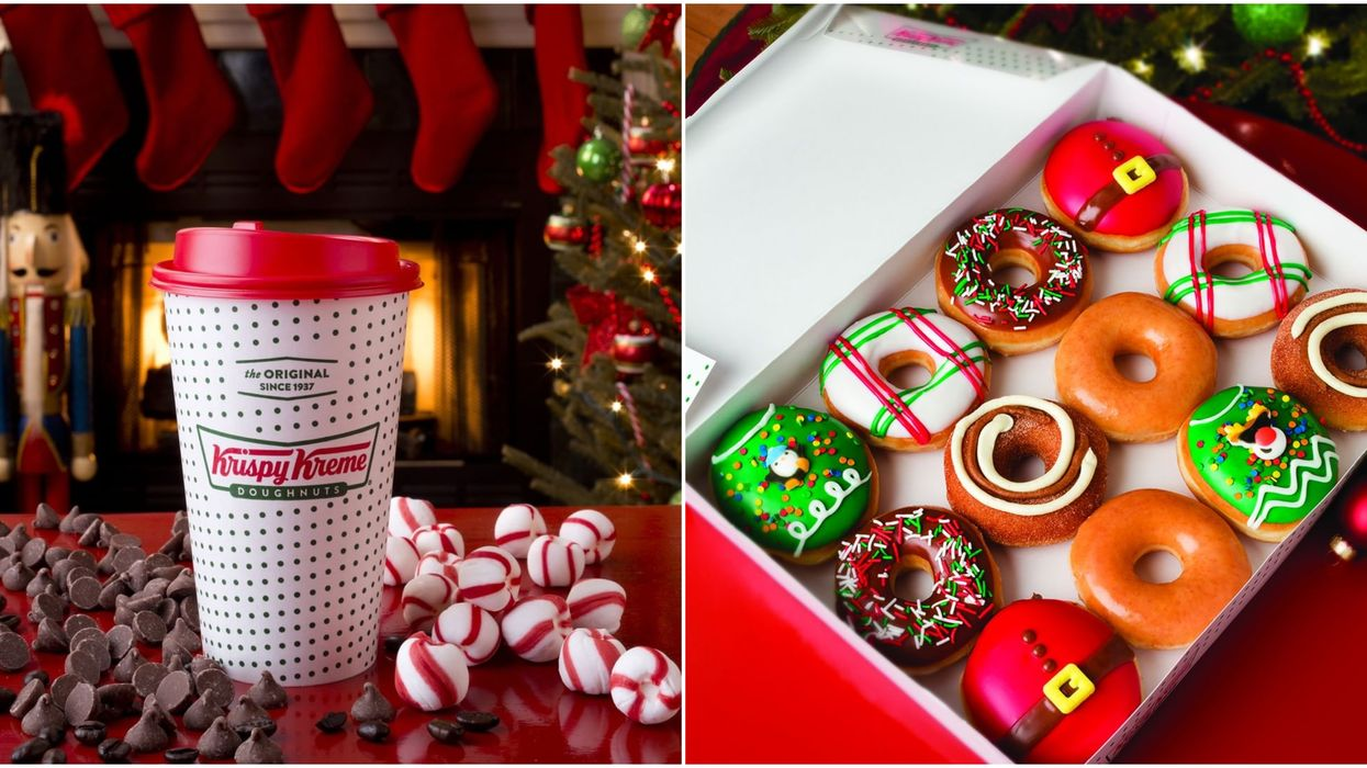 Krispy Kreme Canada Launched 5 New Holiday Donuts For Christmas