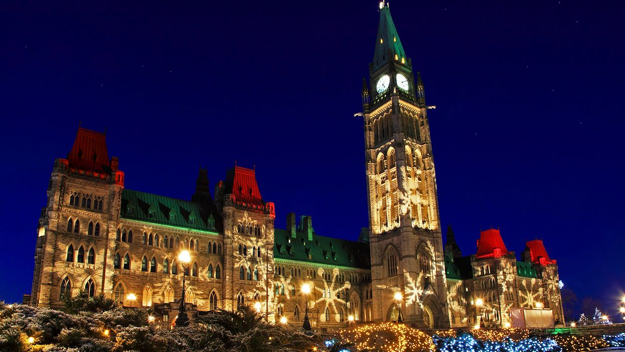 Ottawa's Parliament Buildings To Host Magical Light Shows For The Holidays