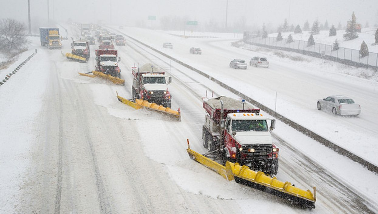 Parts Of Southern Ontario Are Getting Up To 15 Cm Of Snow Today And Winter Weather Warnings Are In Effect