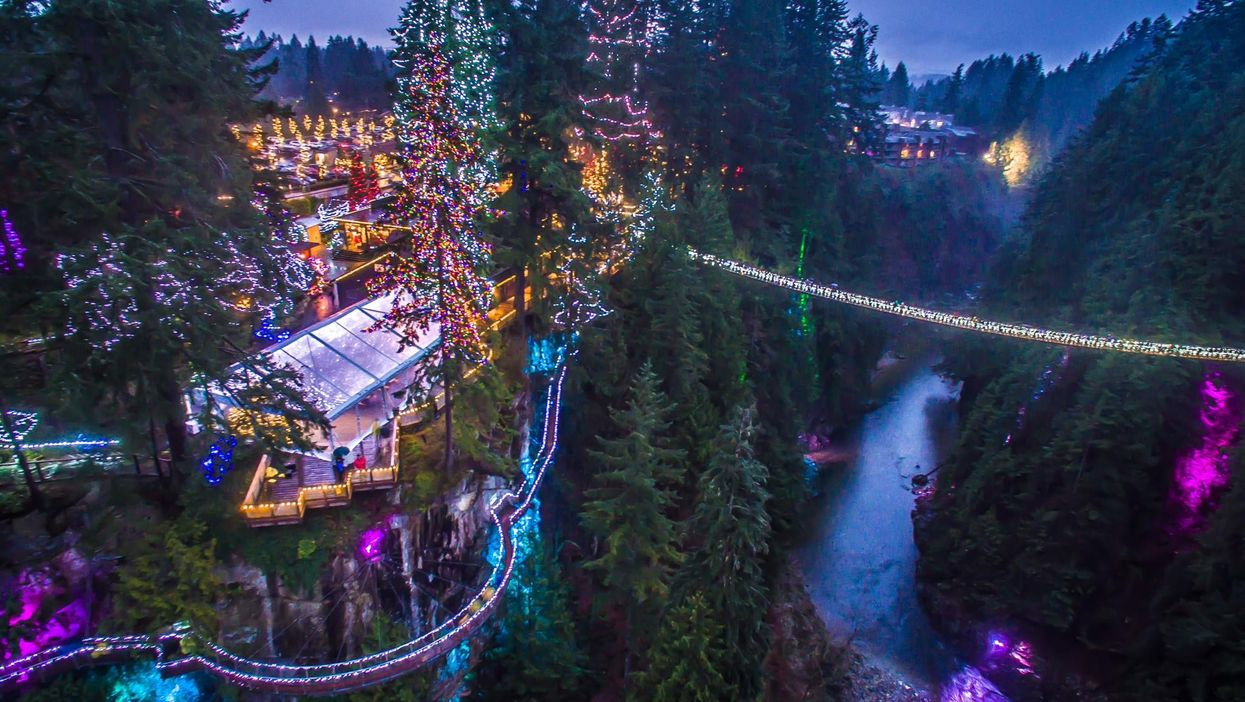 The World's Tallest Christmas Trees Are Now In Canada And They're Absolutely Magical